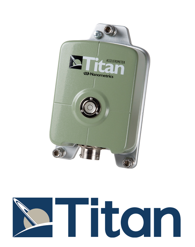 Titan and logo