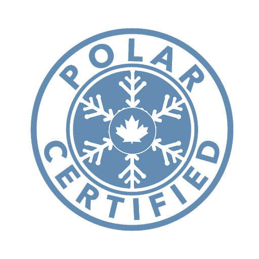 Polar certified ultra-low temperature logo